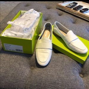 GB White Loafers